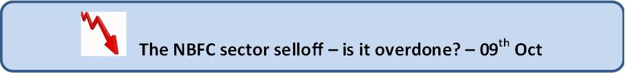 NBFC selloff, jainmatrix investments