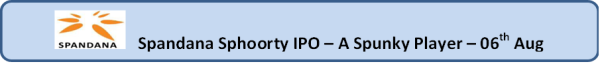 jainmatrix investments, Spandana IPO