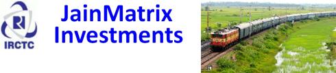 jainmatrix investments, IRCTC IPO