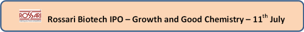 jainmatrix investments, rossari ipo